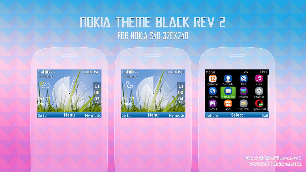 Nokia theme black for C3-00