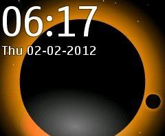 Planet swf animated theme Nokia X2-00