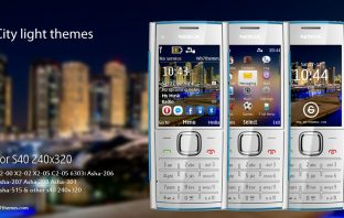 City light themes X2-00 Asha 208 240×320