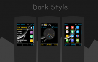 Dark style themes for X2-00 6303i 5130 240x320 s40