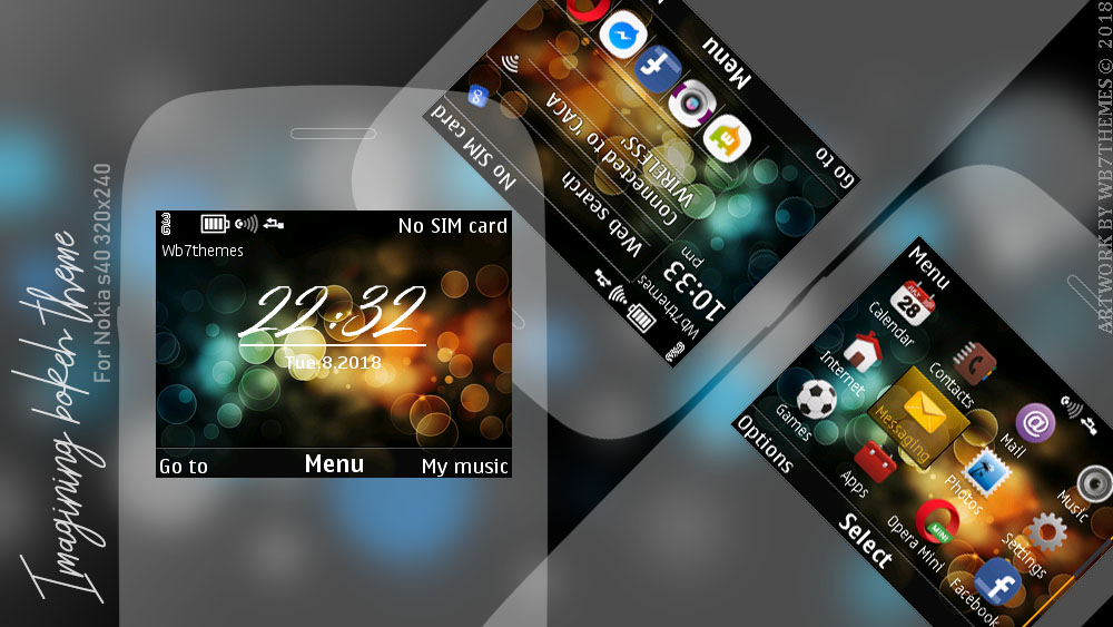 Imagining themes for Nokia C3-00 Asha 201 s40 320