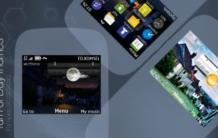 Turn of day swf widget theme asha 302 210 205 200 201 C3-00 X2-01