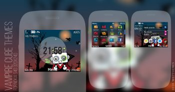 Vampire Cube Themes For Nokia C3-00 Asha 302 320x240
