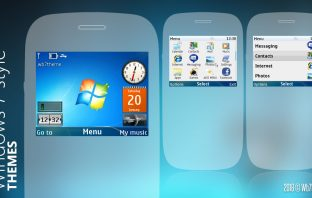 Nokia C3-00 320x240 s406th Windows7 style themes