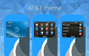 AT&T theme for nokia s40