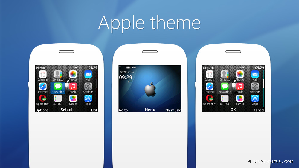 Apple theme s40 320x240