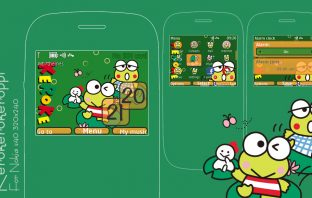keroppi theme Nokia C3-00 320x240 s406th