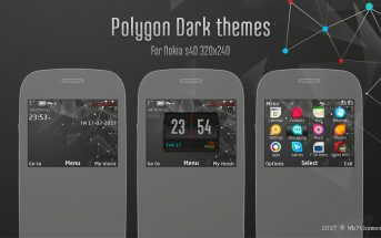 Polygon dark theme C3-00 X2-01 Asha 302 205 210