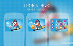 Doraemon theme for Nokia C3-00