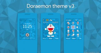 Doraemon theme v3 for 240x320 s406th s405th