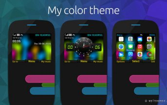 My color / Warnaku theme for Nokia 320×240 s406th
