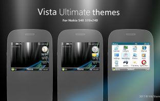 Windows Vista ultimate themes C3-00 Asha 200