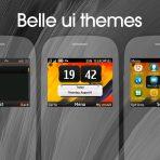 Nokia belle ui clock swf theme C3-00 X2-01 Asha 200 201 205 210