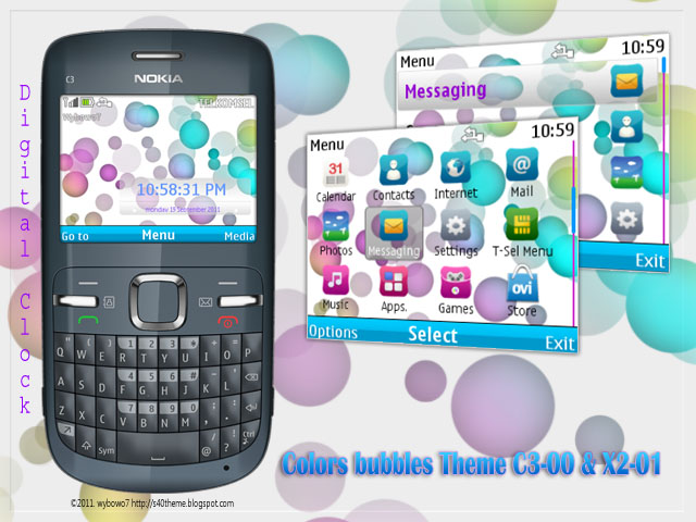 colors-bubbles-theme-for-nokia-c3-x2