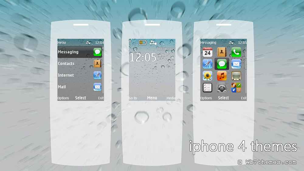 Iphone 4 theme X2-00