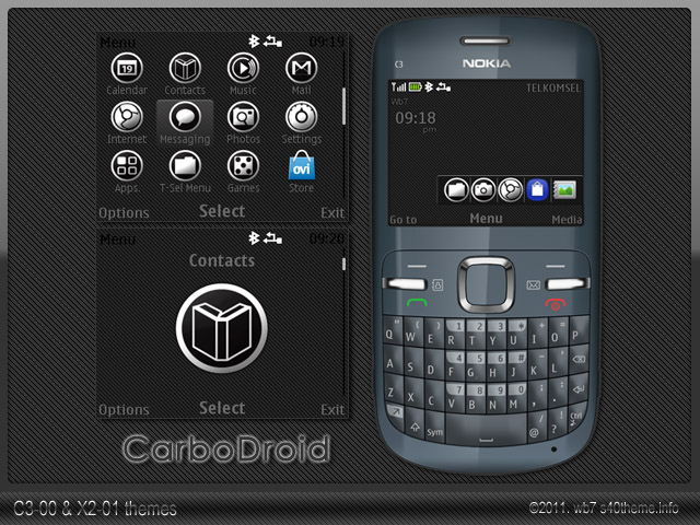 Carbo-droid-C3-X2-themes