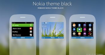 Nokia theme black remake s40 320x240