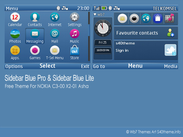 Sidebar-Blue-theme-for-C3-X2-Asha-201-s405th-320x240