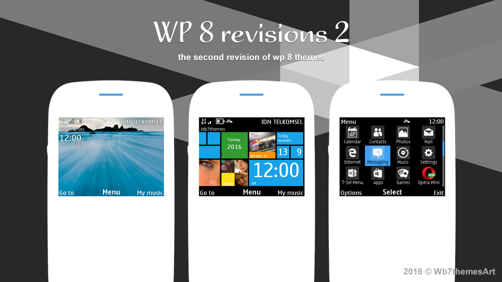 Windows Phone 8 style Theme Asha