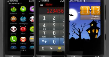 Haloween theme Asha full touch