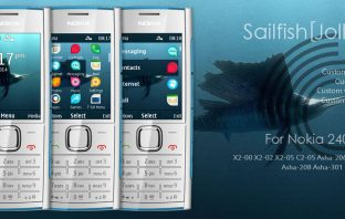 Sailfish jolla 3 theme X2-00 X3-00 X2-02 X2-05 206 208 515 301 240x320