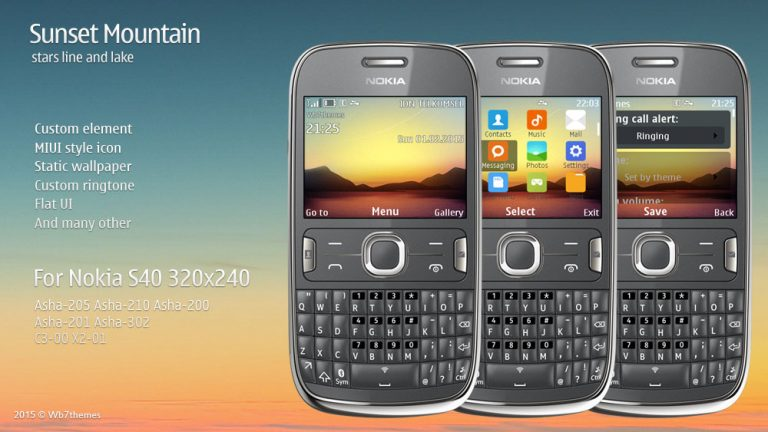 nokia 2690 themes with tones free download mobile themes
