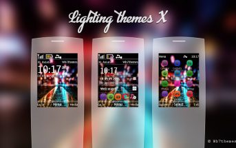 Lighting themes Nokia X2-00 240x320