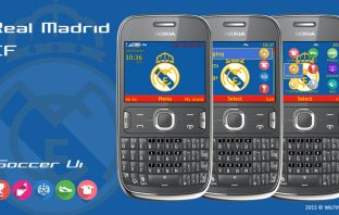 Real Madrid theme Asha 302 X2-01 Asha 210 205 200 201