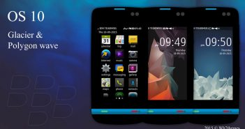BlackBerry 10 and classic theme Asha 311 full touch