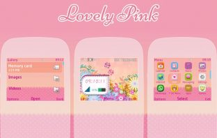 Lovely pink theme Asha 302 200 201 205 210 c3-00 x2-01