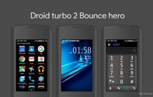 Droid turbo 2 theme Asha 311 305 306 308 309 305 full touch