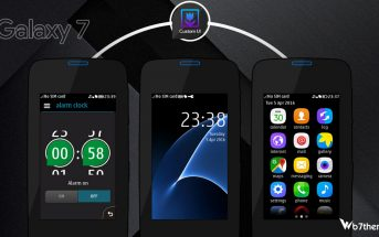Galaxy S 7 style theme asha 311 full touch 240x400
