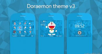 Doraemon version 3 for nokia s40 320x240