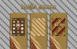 Images Batik theme for Nokia s40 240x320