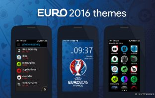 EURO 2016 france theme asha full touch