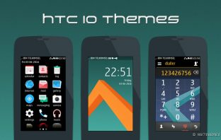 preview asha full touch theme style Htc 10