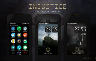Injustice Gods Among Us theme Asha 306