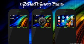abstract aurora theme asha 210 205 201 200 302 C3-00 X2-01