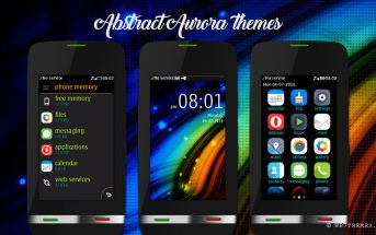Abstract aurora theme Asha 310