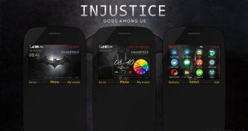 Injustice Gods Among Us theme s40 320x240 Asha 302 210