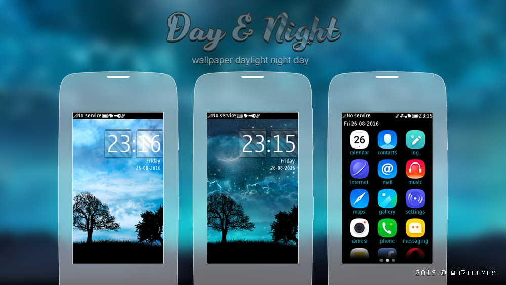 Daylight night day theme Asha 306