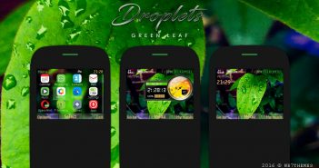 Droplets theme X2-01