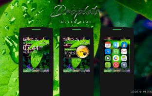 Droplets theme X2-00
