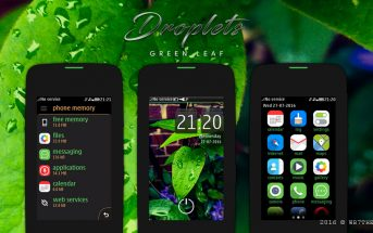 Droplets theme Asha 309