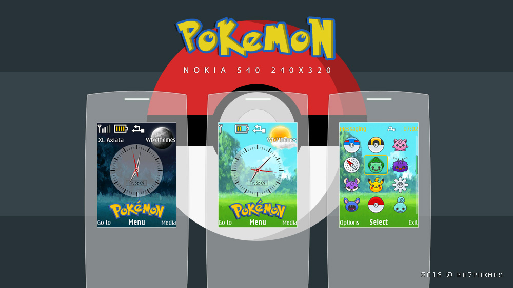 Pokemon theme X2-00 s40 240×320 and similiar