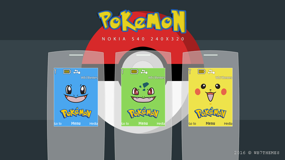 Pokemon theme x2-00 s40 240x320