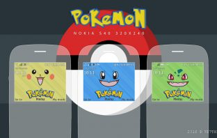 Pokemon theme Asha 302 s40