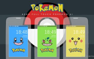 Pokemon theme Asha 311 305