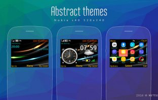 Abstract live theme Asha 302