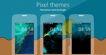 Pixel theme Asha 311 310 Asha full touch